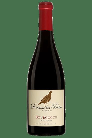 Bouteille de vin rouge Domaine des Perdrix Bourgogne Pinot Noir 2018
