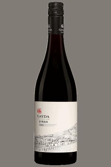 Bouteille de vin rouge Gayda Pays D'Oc Syrah 2019