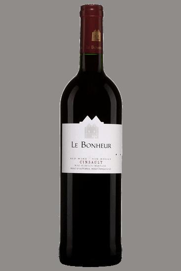 Bouteille de vin rouge Le Bonheur Cinsault Swartland 2019