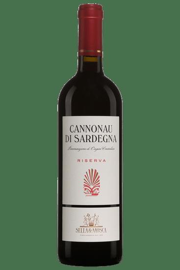 Bouteille de vin rouge Sella & Mosca Cannonau di Sardegna Riserva