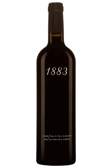 Bouteille de vin rouge Sichel 1883 Bordeaux 2019