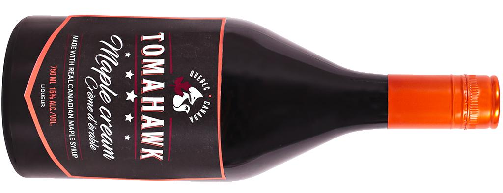 Bouteille de Tomahawk Crème d'érable - Tout sur le Vin