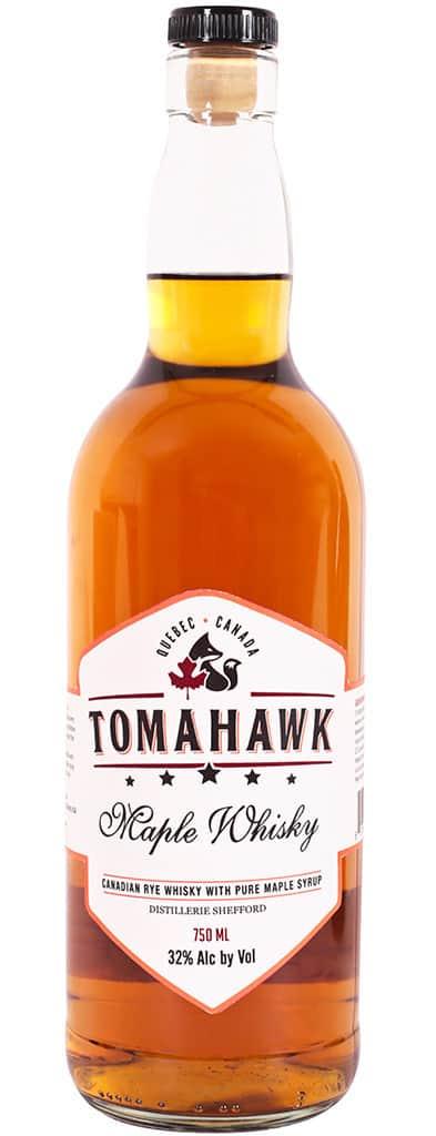 Bouteille de whisky Tomahawk Whisky à l'érable - Tout sur le Vin