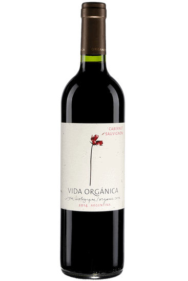 Bouteille de vin rouge Vida Organica Sauvage Mendoza 2020