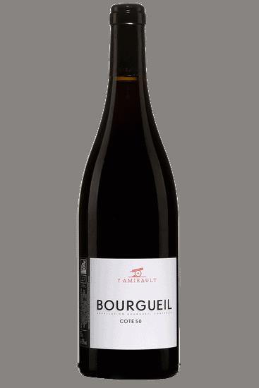 Bouteille de vin rouge Yannick Amirault Cote 50 2018