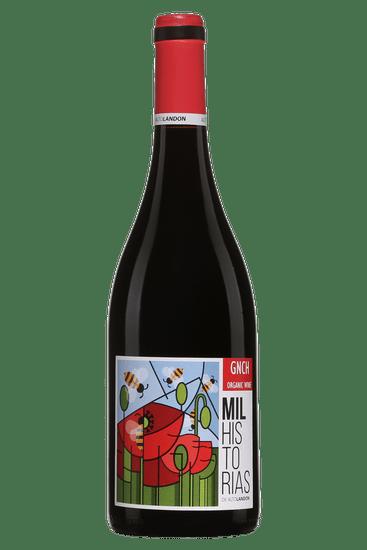 Bouteille de vin rouge Altolandon Milhistorias Manchuela 2019