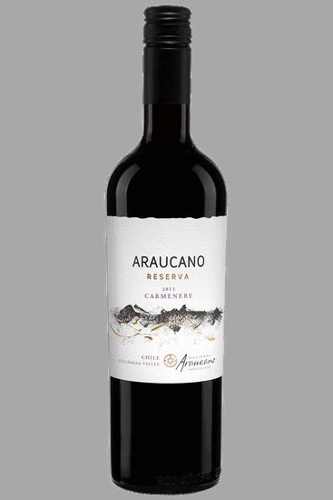 Bouteille de vin rouge Araucano Carmenère Reserva Vallée de Colchagua 2019