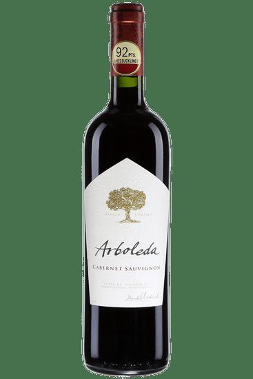 Bouteille de vin rouge Arboleda Cabernet-Sauvignon Valle de Aconcagua