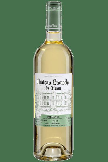 Bouteille de vin blanc Château Lamothe de Haux Bordeaux 2019