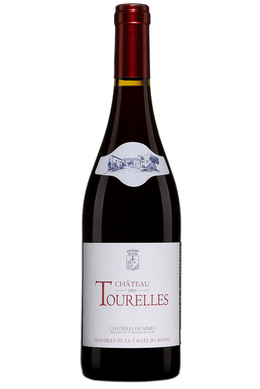 Bouteille de vin rouge Château des Tourelles Costières de Nîmes