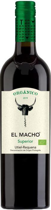 Bouteille de vin rouge El Macho Utiel-Requena Espagne