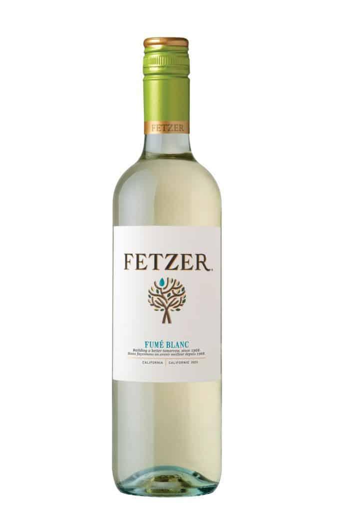 Bouteille de vin blanc Fetzer Valley Oaks Fumé Blanc