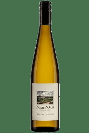 Bouteille de vin blanc Gewurztraminer Quails' Gate Vallée de l'Okanagan 2019