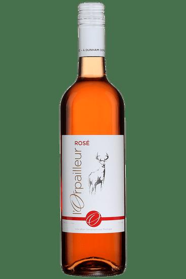 Bouteille de vin rosé L'Orpailleur 2020