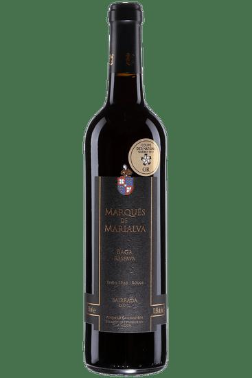Bouteille de vin rouge Marques de Marialva Baga Reserva 2015