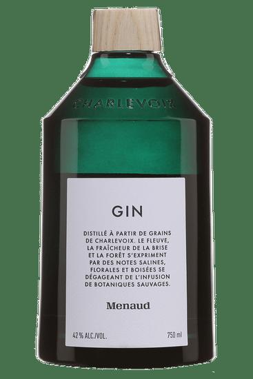 Bouteille de gin Menaud Gin