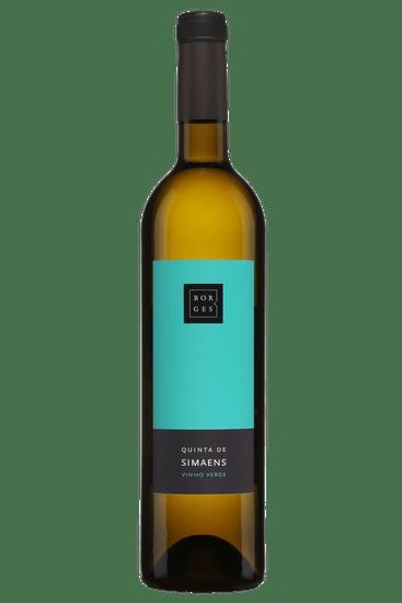 Bouteille de vin blanc Borges Quinta de Simaens Vinho Verde 2019