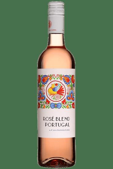 Bouteille de vin rosé Casa Santos Lima-Companhia Das Vinhas Blend Lisboa 2020