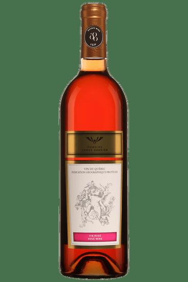 Bouteille de vin rosé Domaine l'Ange Gardien 2019