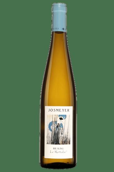 Bouteille de vin blanc Josmeyer Riesling Le Kottabe 2018