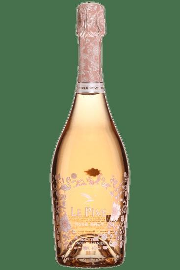 Bouteille de mousseux rosé Le Pive Brut