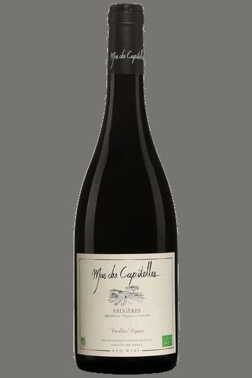 Bouteille de vin rouge Mas des Capitelles Faugères Vieilles Vignes 2019