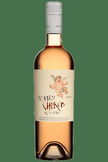 Bouteille de vin rosé Montes Cherub Valle de Colchagua 2020