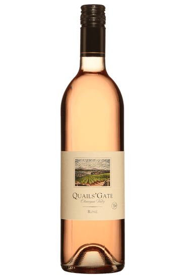 Bouteille de vin rosé Quails' Gate Vallée de l'Okanagan 2020