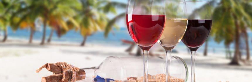 bon vin pour l'été, Cinq vins pour un été chaud