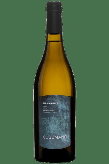 Bouteille de vin blanc Cusumano